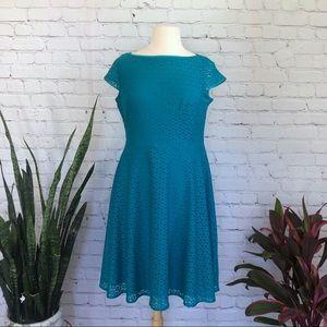Evan Picone Black Label Lace Dress